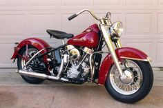 1950 Harley-Davidson Panhead.