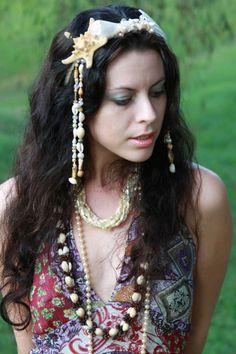 Mermaid Shell Tribal Headdress