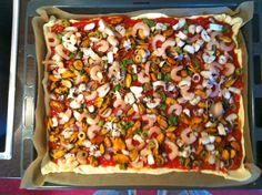 Base-Star.net » News » Pizza mit Meeresfrüchte
