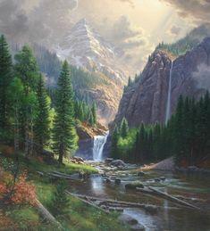 mountain scene by Mark Keathley