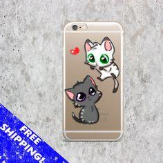Cover iPhone 6S Cat Case Samsung S6 Edge Animals cover iPhone 7 case Cute iPhone 6 cover Love iPhone 5S case Kitten Samsung S7 case Funny