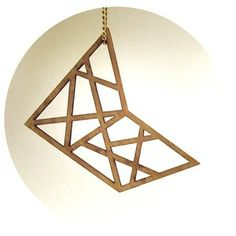 Plywood Favorite - Necklace // byanouk.tictail.com