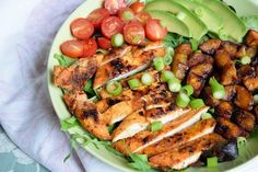 This Grilled Cajun Chicken Plantain Salad doesn't sacrifice taste and works perfectly in line with your health/weight loss goals.