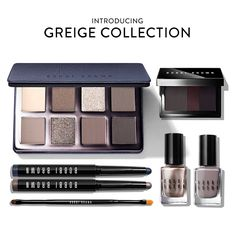 NEW Greige Collection by Bobbi Brown