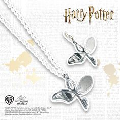 Dare to take on the responsibility of guarding the Philosopher's Stone? With this stunning Harry Potter sterling silver flying key, you can. Not only is this necklace the perfect gift for 'Potterheads', it's also a stylish fashion accessory. Harry Potter Films, Key Necklace, Jewlery, Fashion Accessories, Sparkle, Sterling Silver, Stone, Stylish, Earrings