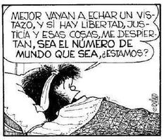 Libertad, justicia, Mafalda