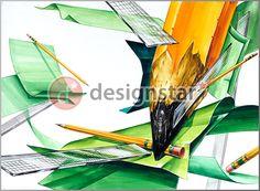 http://blog.naver.com/design-star #기초디자인, #미술학원, #디자인스타, #연필, #투명자, #색종이, #건국대실기