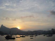 Sunset in Rio de Janeiro; Book Brazil with Travel Expert Briana Thiodet: briana.t@travelstore.com