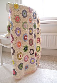 hexagon blanket by mabelrosemolly, via Flickr