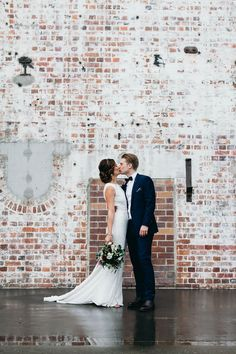 DANIELLE + PETER | The AGYNESS gown | Photographed by Fig Tree Wedding Photography | Follow us @kwhbridal