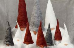 Christmas Crafts! How to Make Scandinavian Christmas Gnomes