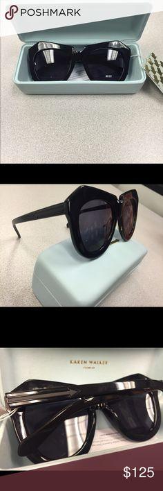 Karen walker Karen walker one worship black sunglasses. Case and cloth included 😎 make a offer! Karen Walker Accessories Glasses