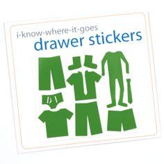 DIY-KIDS drawer stickers