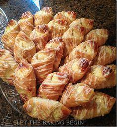 Cheesecake Danish w/ Lemon Glaze - Let the Baking Begin! Let the Baking Begin!