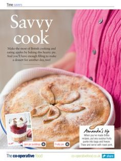 The Co-operative Food Magazine September/October 2013 apple pie October 2013, Apple Pie, Magazine, Cooking, Breakfast, Food, Kitchen, Morning Coffee, Essen
