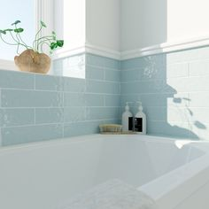 Laura Ashley Artisan french grey gloss wall tile x Decorating Ideas For Small White Bathroom Grey Wall Tiles, Grey Walls, Duck Egg Blue Bathroom Tiles, Duck Egg Blue Tiles, Accent Walls, Bad Inspiration, Bathroom Inspiration, Bathroom Renos, Bathroom Interior