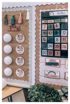 Elementary Classroom Themes, Calm Classroom, Kindergarten Classroom Decor, Modern Classroom, Classroom Layout, Classroom Decor Themes, Classroom Design, Future Classroom, In Kindergarten