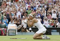 Sabine Lisicki beats Serena Williams