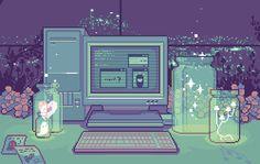 Pixel art é um negócio que....como eu posso dizer...É O MOTIVO DA VIDA CARA OLHA QUE BIURIFU