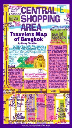 47 Best Bangkok Travel Map images in 2019   Bangkok travel ...
