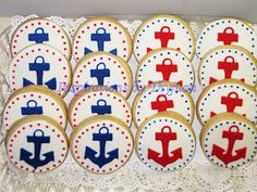 Inspirations by Thyjuan LLC.: Anchor Cookies
