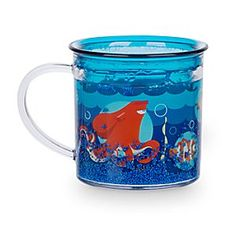 Disney Finding Dory Funfill Cup | Disney StoreFinding Dory Funfill Cup - In addition to finding Dory, they'll find lots to amuse them with this Funfill Cup. Inspired by the Disney%u2022Pixar movie, the cup features blue ''bubbles'' floating in the liquid-filled double-walled design.