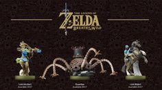 Lanzan nuevos amiibos de The Legend of Zelda