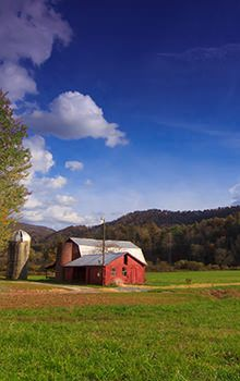 Southern Appalachia has a rich agricultural history with the climate and soil to support it.