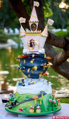 I want to meet the couples that ordered these wedding cakes (20 photos)