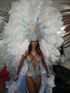 Frozen Costume for Fantasy! Trinidad and Tobago Carnival 2015