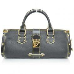 Louis Vuitton Suhali Leather Noir L'epanoui Pm Noir Black Bag - Satchel $1,604