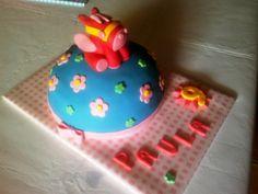 Tarta Pegasus decorada con fondant / Pegasus cake