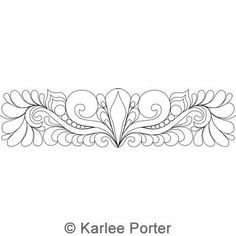 Karlee's Border 85 | Karlee Porter | Digitized Quilting Designs