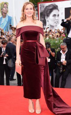 Red Velvet: Diane Kruger's Best Looks