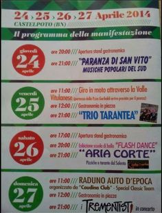 AccadeinCampania: Sagra Salsiccia Rossa a Castelpoto 2014