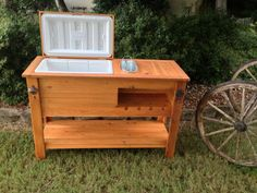 wooden outdoor cooler - Google Search