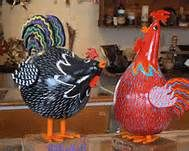roosters from gourds - Bing Images