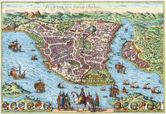 Amazing Maps of Medieval Cities