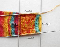 Week 2 Beginner sock knitting: Sockalong - Heel flap, heel turn and gusset