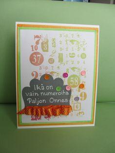 Tämä kortti/työ on tehty Koukussa kortteihin Tekniikka10:n. Koukussakortteihin yhteistyössä Taika-lehden kanssa.