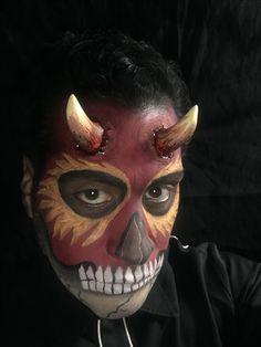 El diablo make up by Elvia Olivarria Torres