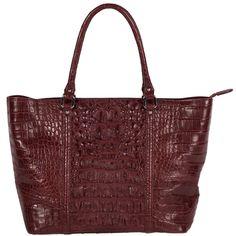 This handbag was made by Tom Mantzel, former owner of Fossil Rim Wildlife Center in Glen Rose, Texas