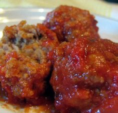 Grandma's Italian Meatballs Recipe - now officially my favorite meatball recipe.
