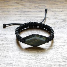 Black string bracelet for women, Bracelet with Agate, Black satin string bracelet, Gemstone bracelet, Braided bracelet, Paracord bracelet Summer Necklace, Blue Necklace, Turquoise Necklace, Beaded Necklace, Braided Bracelets, Paracord Bracelets, Minimalist Necklace, Black Satin, Jewelry Shop