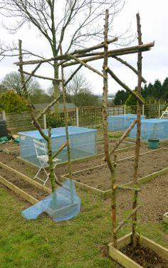 Making a Garden Archway