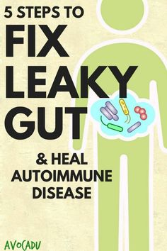 5 Steps to Fix Leaky Gut and Heal Autoimmune Disease | Avocadu.com