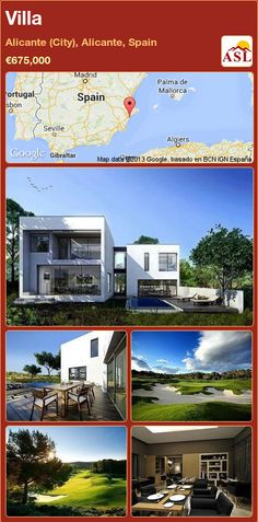 Villa in Alicante (City), Alicante, Spain ►€675,000 #PropertyForSaleInSpain