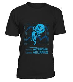 # Awesome Aquarius  TShirt. Best Gifts For Men/Women .  Birthday gifts for Zodiac. Funny Gifts for men, for women, for family. This durable, comfortable T-Shirt is sure to be a hit, whether you're buying it as a gift for somebody special or wearing it yourself. Visit our store above for more different cool mug. Click on add to cart to buy now!
