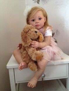 Toddler Reborn Baby | eBay... creepy as crap! What if it moved while it was sitting in your living room or something?