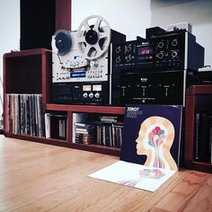 Now spinning the second album by the electronic duo which includes the participation of before she became commercial in and another extremely talented vocalist Vinyl Junkies, Record Collection, Two By Two, Audio, Technology, Electronics, Spinning, Commercial, Fan